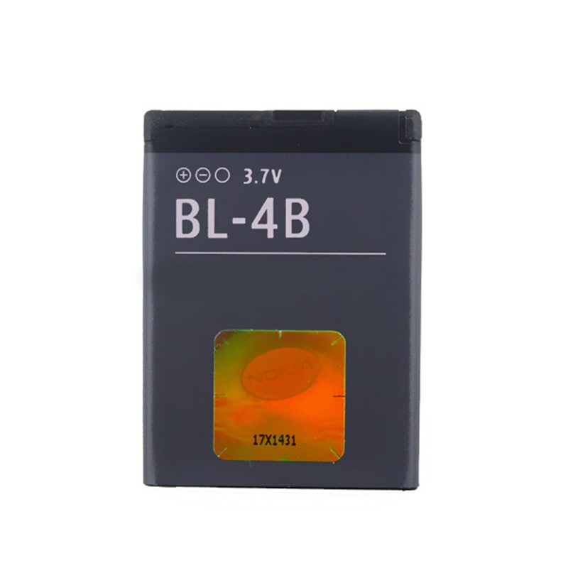 Phone Battery BL-4B For <font><b>Nokia</b></font> 2630 7373 N75 <font><b>N76</b></font> 6111 5000 7070 7500 2660 Replacement Batteries BL 4B BL4B image