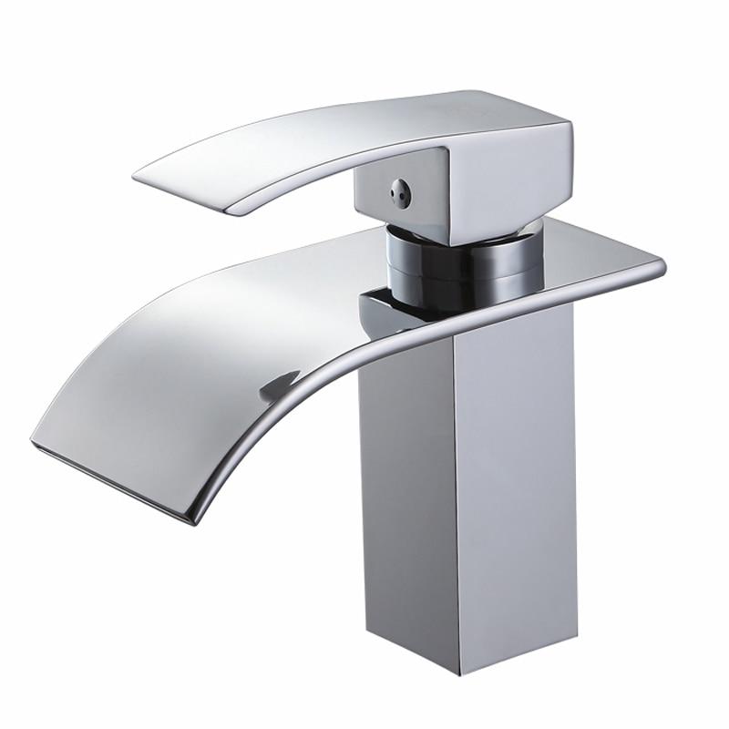 Single Hole Bath Tap : Bathroom Basin Faucet Single Handle Hole Vanity Sink Mixer Tap single ...