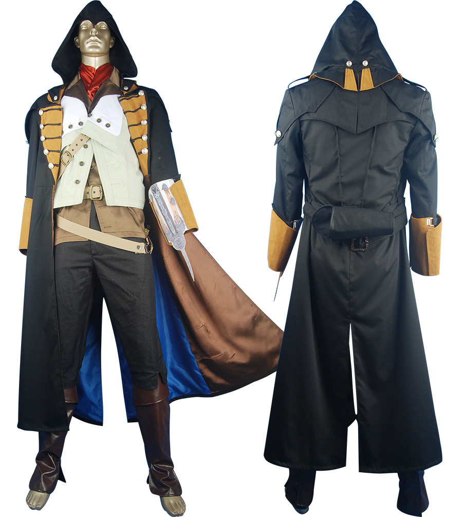 Assassin's Creed Unity Cosplay Arno Dorian Costume Halloween