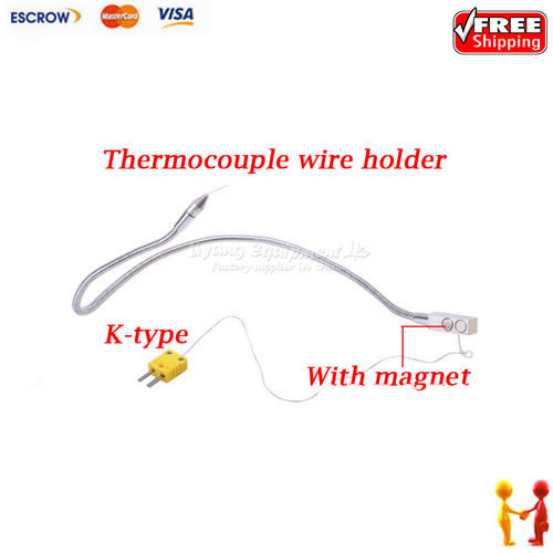 Heat Resistant Thermocouple Wire : Free shipping ly ts omega k type magnet tc thermocouple