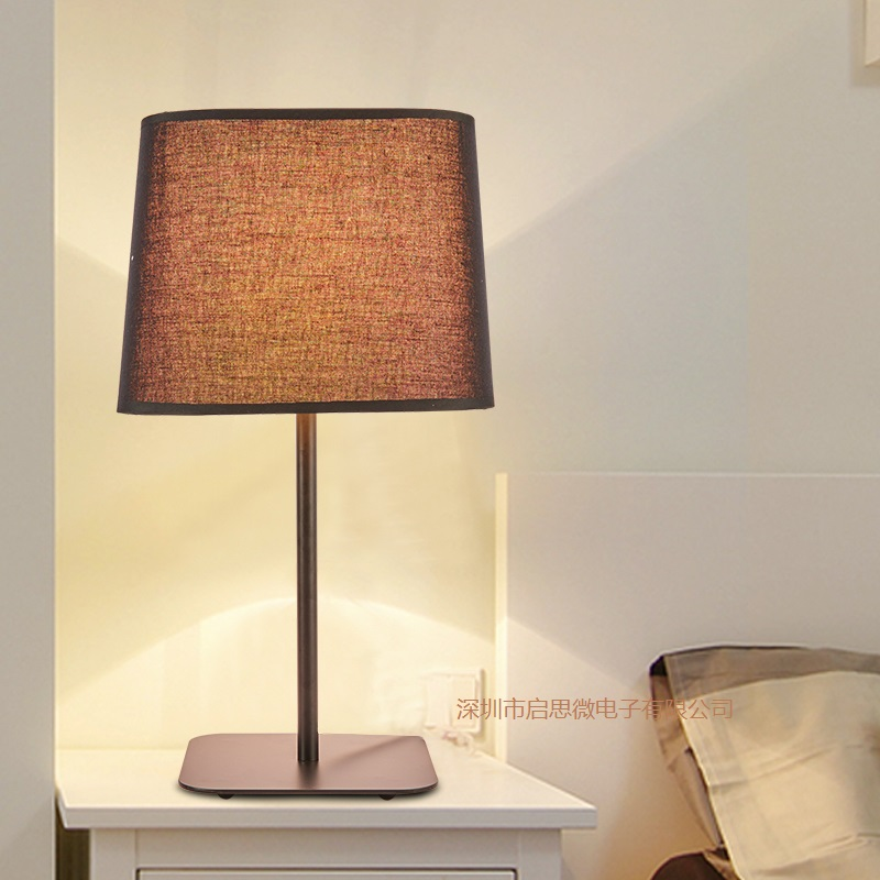 New style Vintage Loft Metal Table Lamp Cloth Light E27 AC 110V/220V For Living Room Bedroom Study room Bedside Home Decor wooden table lamp 280 280 400mm e27 wood cloth white desk light for study room bedroom home decoration living room wtl014