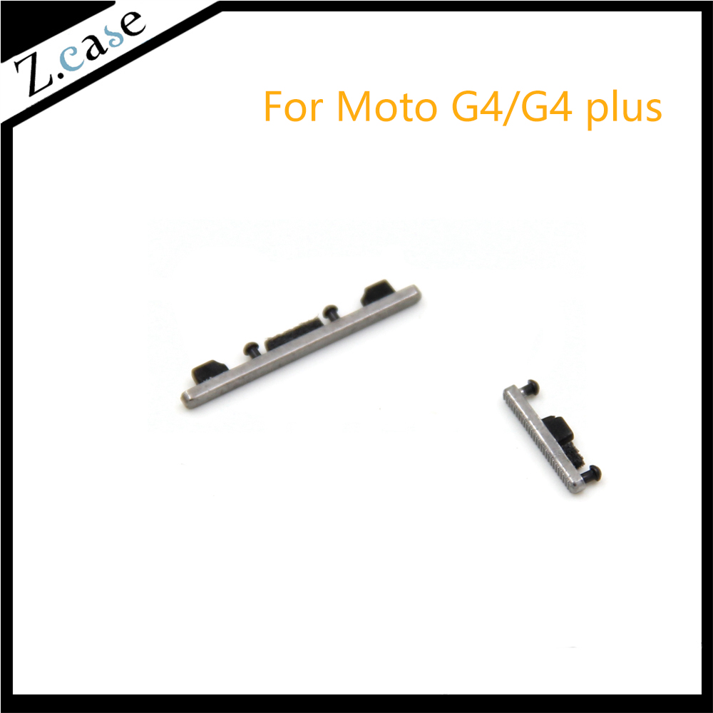 US $2 9 10% OFF|2pcs MOTO g4 g4plus Replacement Side Power Key +Volume  Button for Motorola Moto G4 G4 Plus XT1624 XT1622-in Mobile Phone Flex  Cables