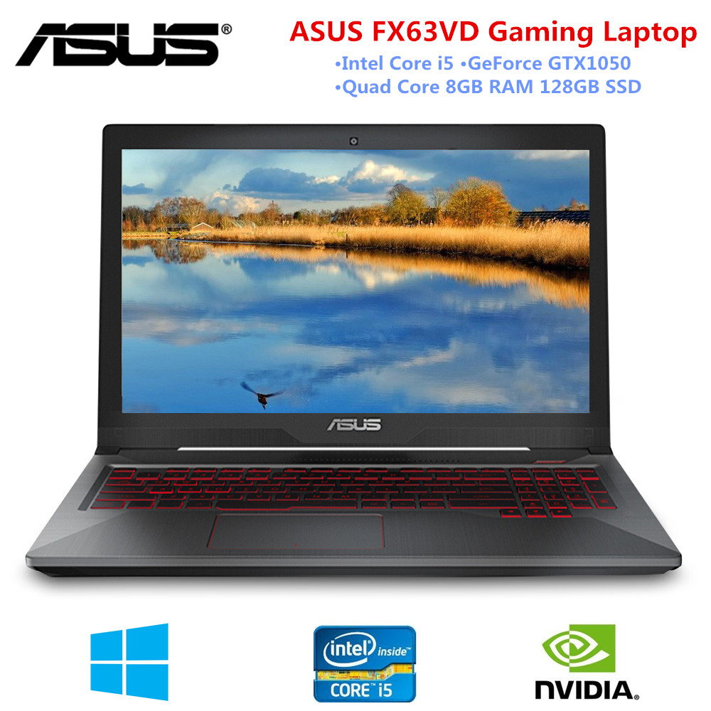15.6inch Gaming Laptop ASUS FX63VD 1920 X 1080 Intel I5 2