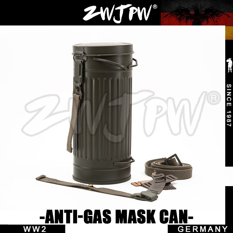 Ww2 Wwii Army Anti Gas Mask Iron Tank And Black Bag Back To Search Resultssports & Entertainment