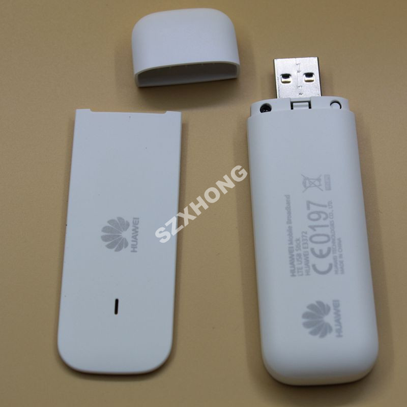 Original Hot selling Huawei E3372 4G USB Stick E3372h-607 with Antenna  150Mbps 4G LTE USB dongle datacard with CRC9 antenna