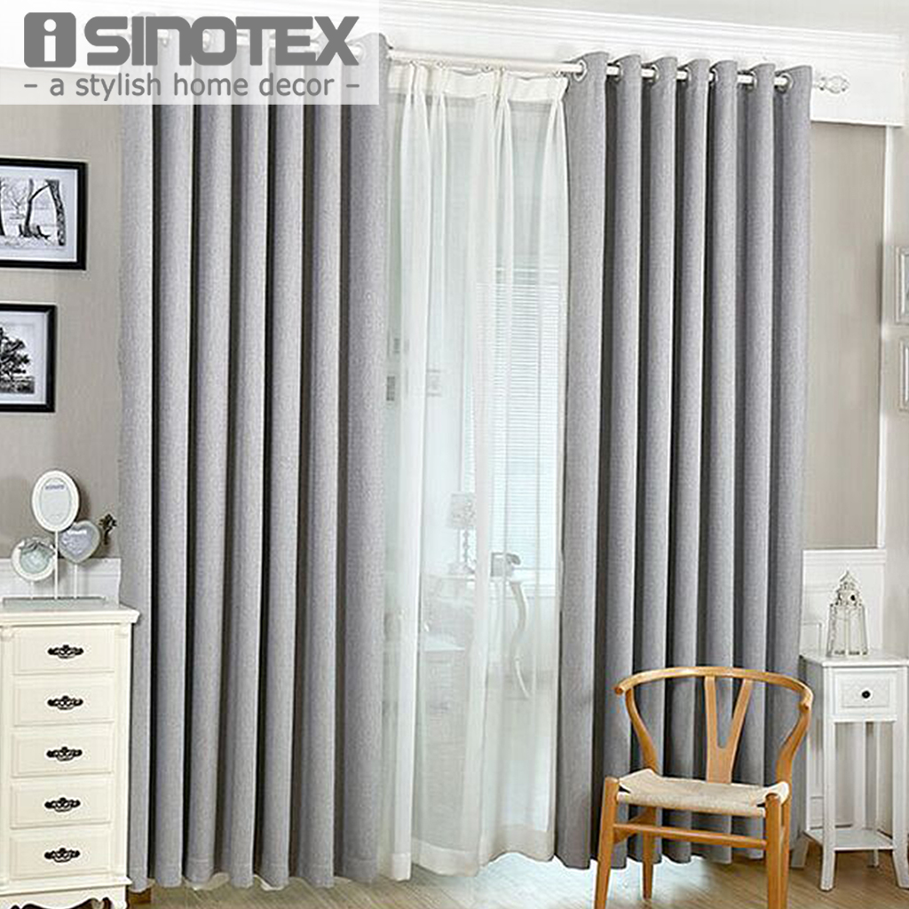 Cafe curtains for bedroom - Solid Colors Blackout Curtains For The Bedroom Faux Linen Modern Curtains For Living Room Window Curtains Blinds Custom Made