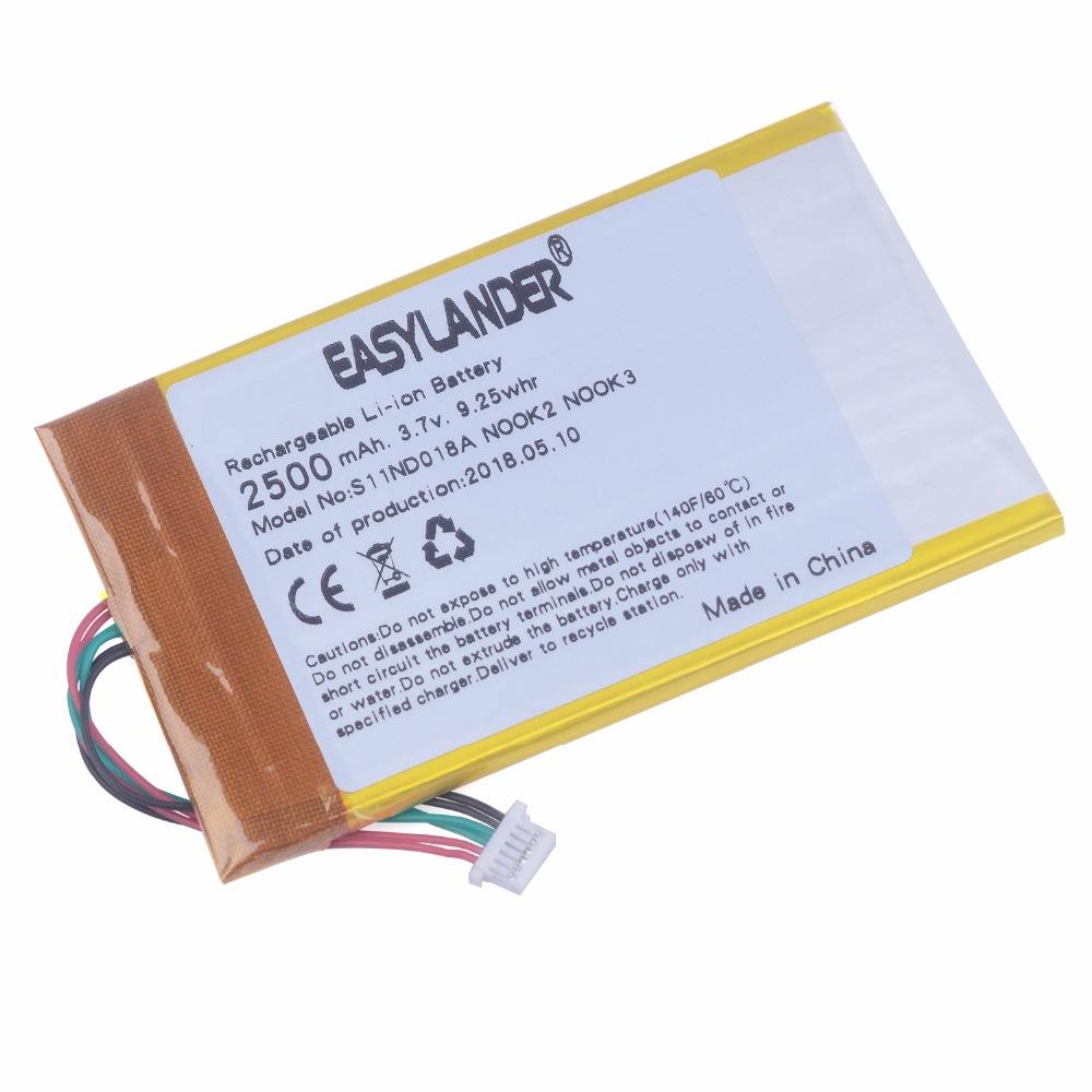 """Original Battery S11ND018A Nook Simple Touch 6/"""" for BNRV300 DR-NK03 MLP305787"""