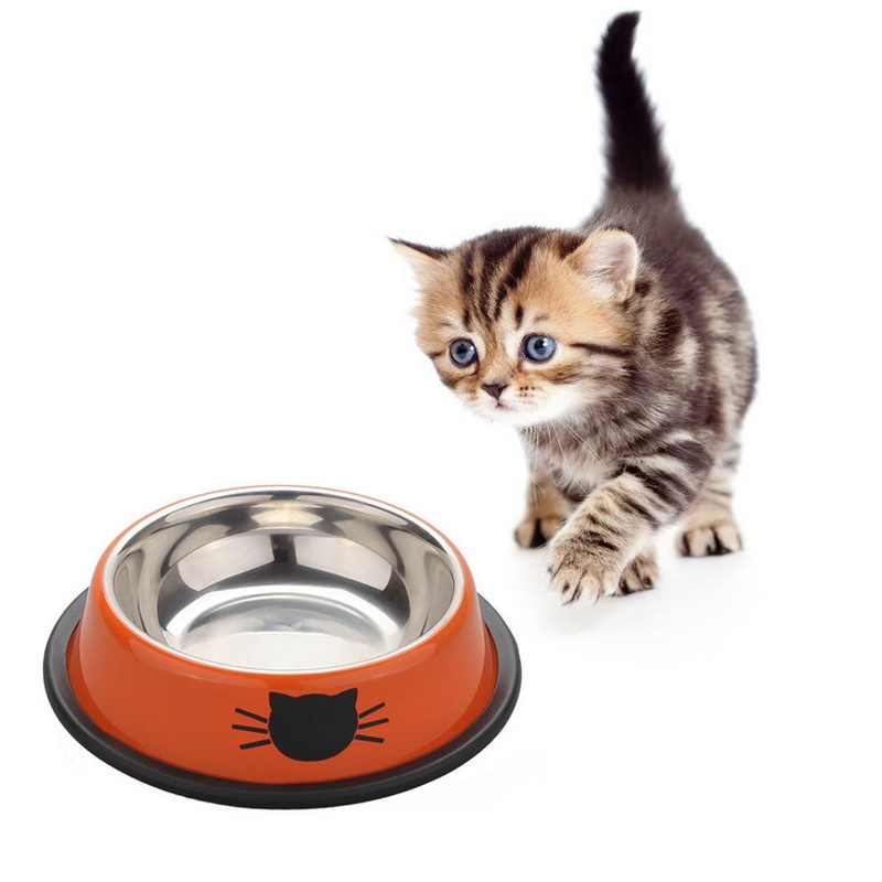New Cat Bowls Stainless Steel Travel