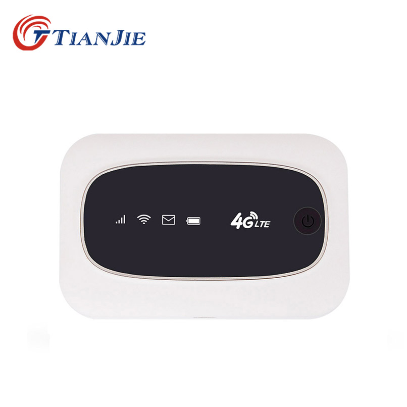 TIANJIE 3G 4G portable WiFi Router 150Mbps Mini mobile Hotspot with SIM Micro SD Card Slot hame a5 3g wi fi ieee802 11b g n 150mbps router hotspot black