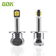 цена на 2pcs Car led H1 h3 h4 h7 h11 9006 9005 White 6000K 80w 1500lm LED Car Fog light Lamp Auto light Car Light Source led headlight