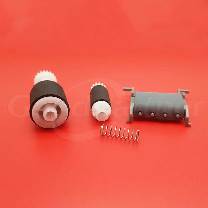 5 Set CB780-80008 CB780-60032 ADF Pickup Roller Pemisahan Pad untuk HP M1212 M1212nf M1213 M1216 M1218 M127 1212nf 1212 1216 127