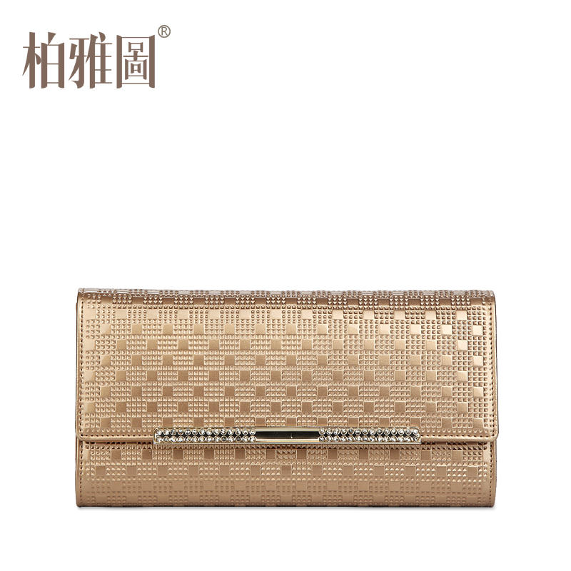 ФОТО Boyatu brand Genuine Cow Leather fashion long  Wallet Multiple pockets high-quality women clutches bags