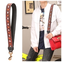 Leather Design Women Handbags Strap Chic Adjust Lady Bags Parts Fashion Handle For Women Bags Sac