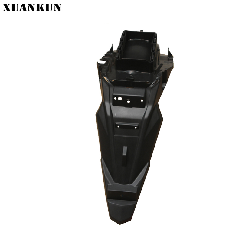 XUANKUN Motorcycle KP150 / KPR150 / KPS200 Rear Fender / Rear Masonry xuankun motorcycle version 15 lf150 10b kp150 front fender assembly