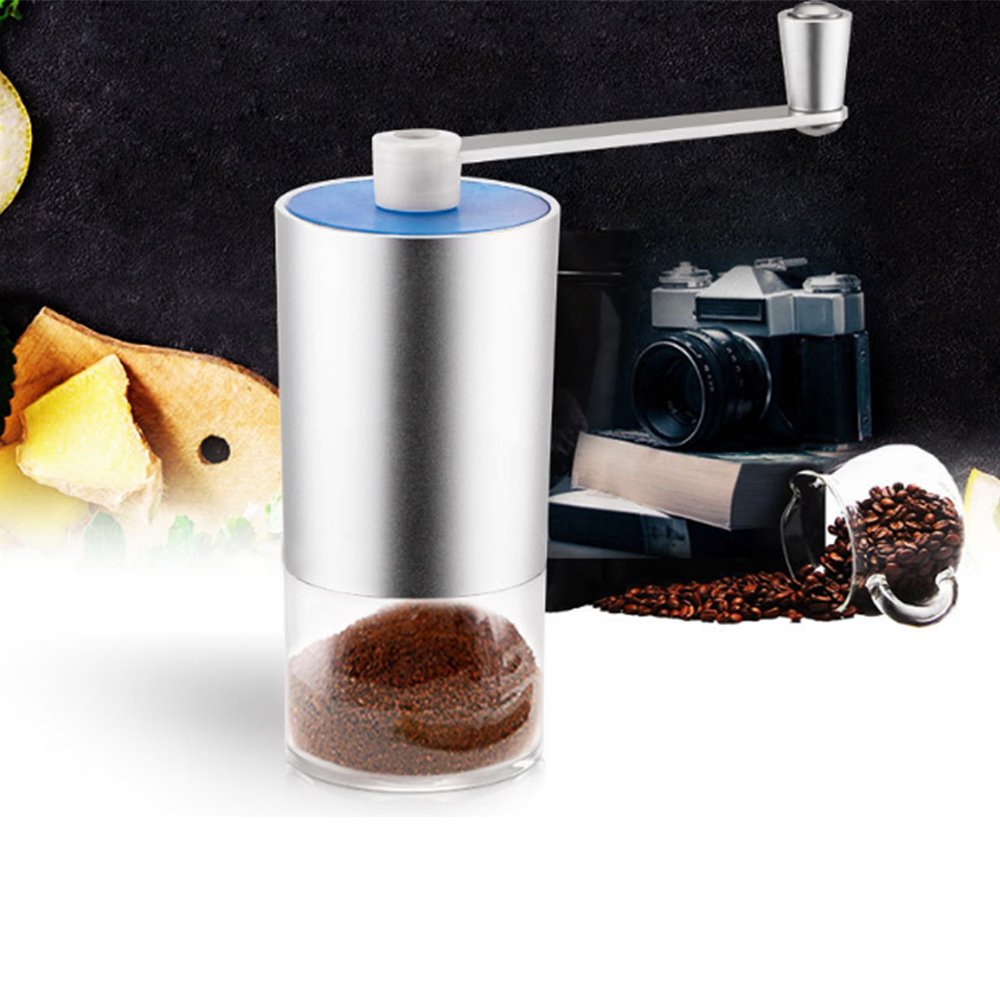 Manual Coffee Grinder Hand Bean Miller Coffee Grinder Stainless Steel Adjustable Coffee Grinding Machine