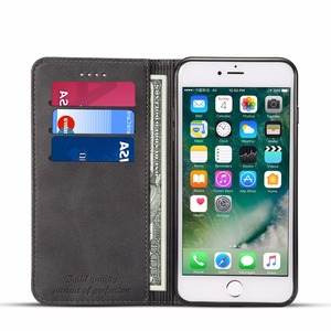 Image 5 - Luxury Leather Wallet Case for iPhone XS Max XR X 7 8 6 6s Plus Flip Card Slot Cover for Samsung S9 Plus Note 9 Coque Fundas Bag