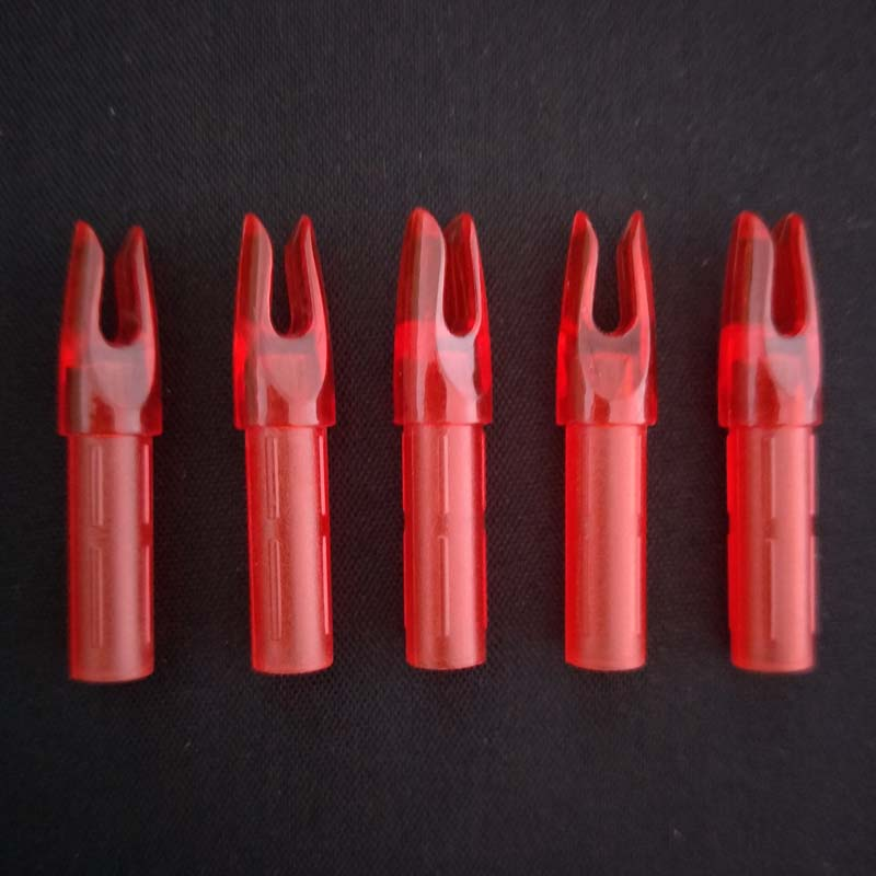 de Caça Alvo Cauda Da Seta Nock Plástico para 6.2mm