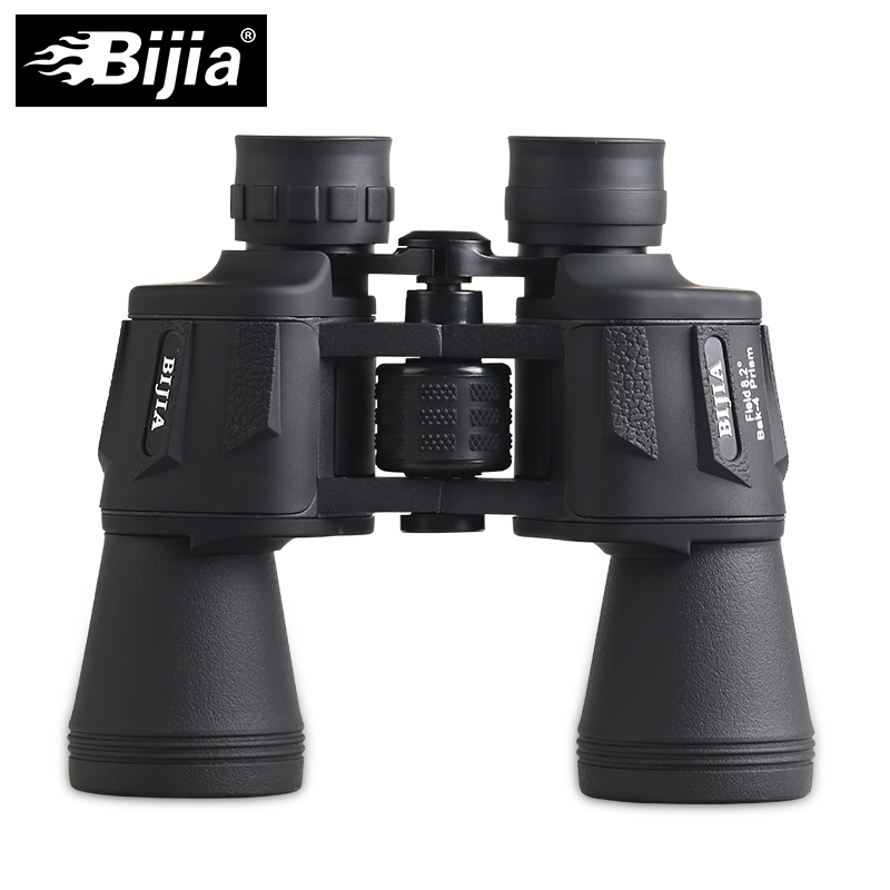 BIJIA 20x50 binoculars high magnification long range waterproof purple coating theater bird watching sports telescope