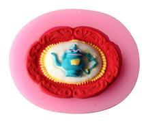 DIY teapot new paragraph nontoxic food-grade liquid silicone mold fondant cake decorating baking tools