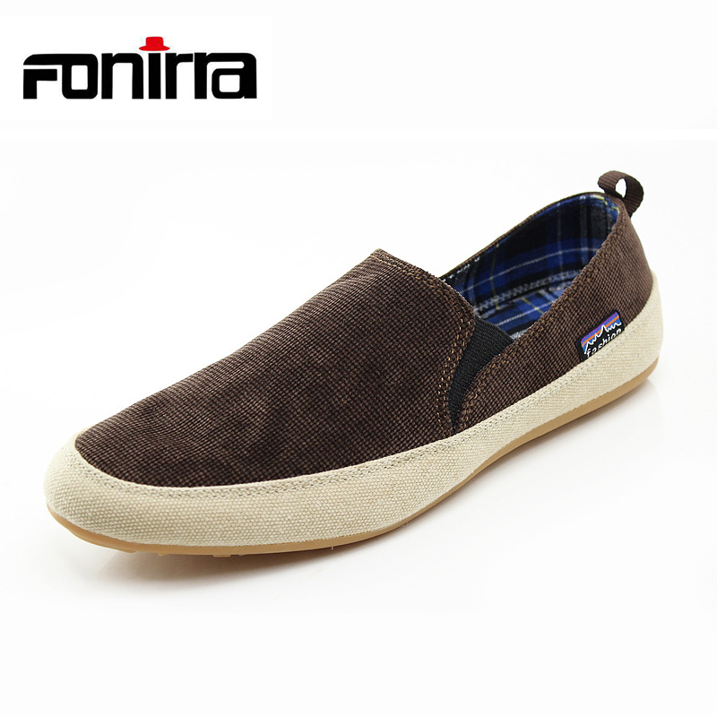 FONIRRA Summer 2017 Korean Style Men Canvas Shoes Fashion Casual Mens Shoes Breathable and Soft Canvas Casual Flats for Men 160