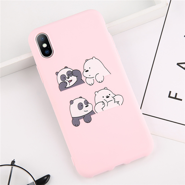 Soft Cartoon Phone Cases For Apple iphone