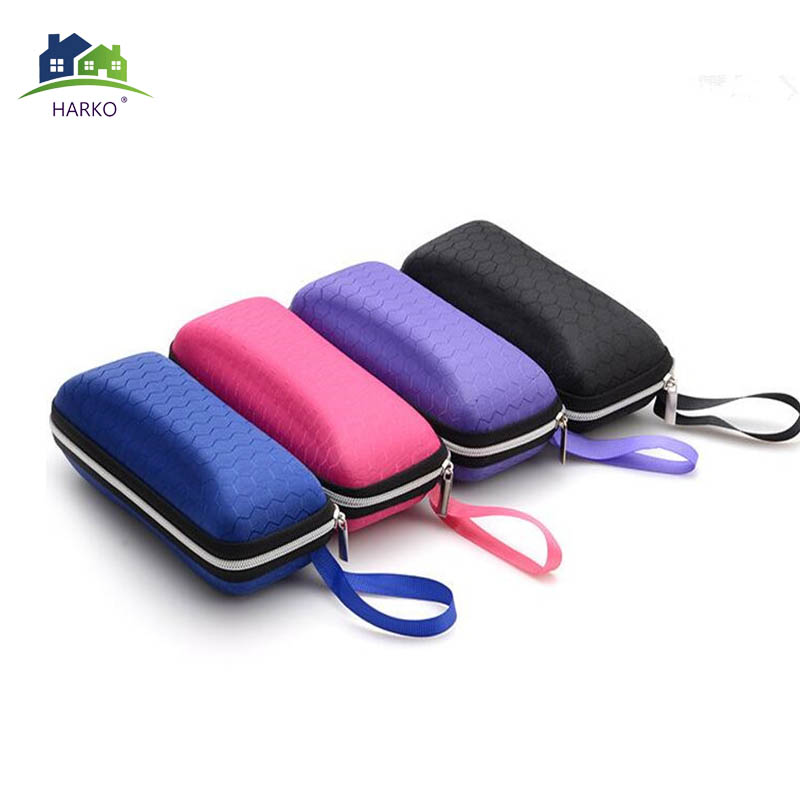 Dependable 1 Pc Portable Zipper Eye Glasses Case Sunglasses Eyewear Shell Hard Protector Box Bag Optical Accessories Random Delivery Apparel Accessories