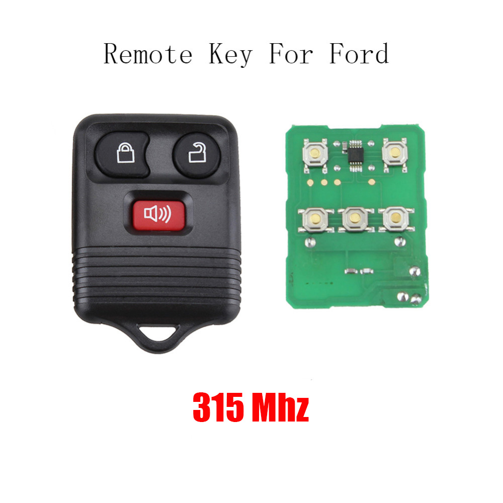 3 Buttons Remote control 315Mhz For Ford Escape F 150 Explorer 2001 - 2007 CWTWB1U345 Car Key Fob transmitter3 Buttons Remote control 315Mhz For Ford Escape F 150 Explorer 2001 - 2007 CWTWB1U345 Car Key Fob transmitter