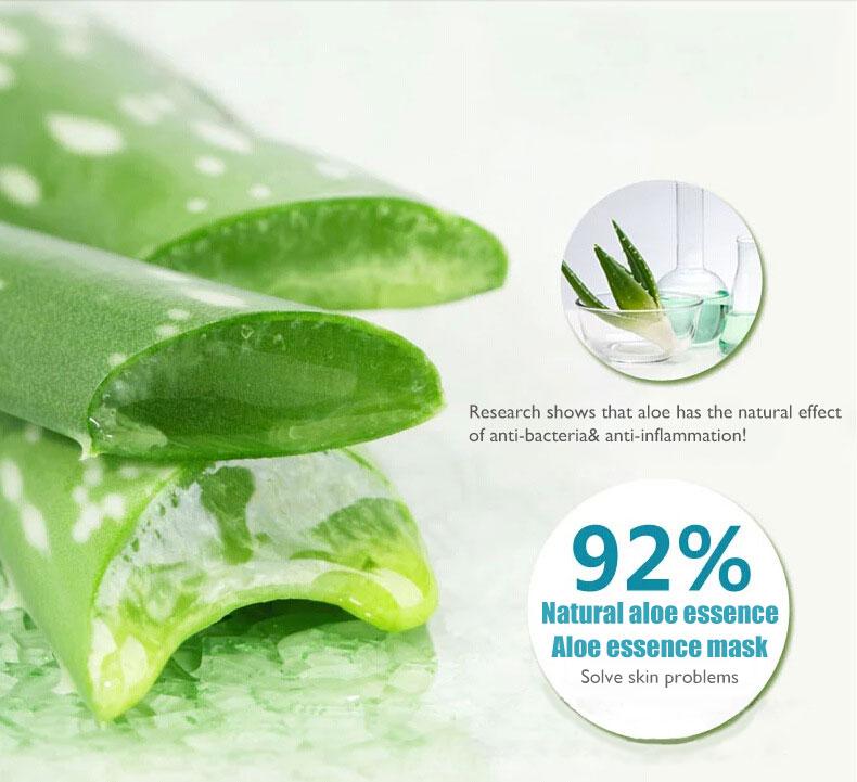 BIOAQUA Beauty Products Aloe Vera Face Mask Face Care Moisturizing Oil Control Pores Blackhead Brightens Repair Skin Care Brand