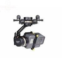 Таро 3D V Металл 3 оси PTZ карданный для Gopro Hero 5 камера Stablizer TL3T05 для FPV Дрон системы экшн Спортивная камера 50% скидка