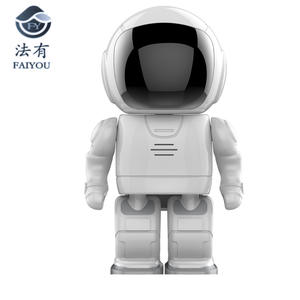 Robot WIFI Camera Surveillance-Hd A180 Android for IOS Lens Cctv-Cam Baby-Monitor Night-Vision