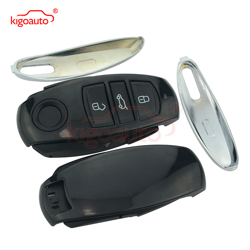 Entrada sin llave Smart Remote Key Shell Case Fob 3 Button para VW - Autopartes - foto 2
