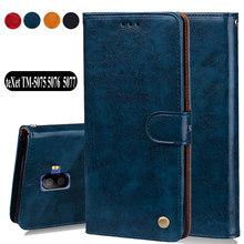 "Luxury PU Leather Slip-resistant 5.0""Flip Wallet Case For teXet TM-5075 teXet TM-5076 teXet TM-50 Case Back Cover Book Case Bags(China)"