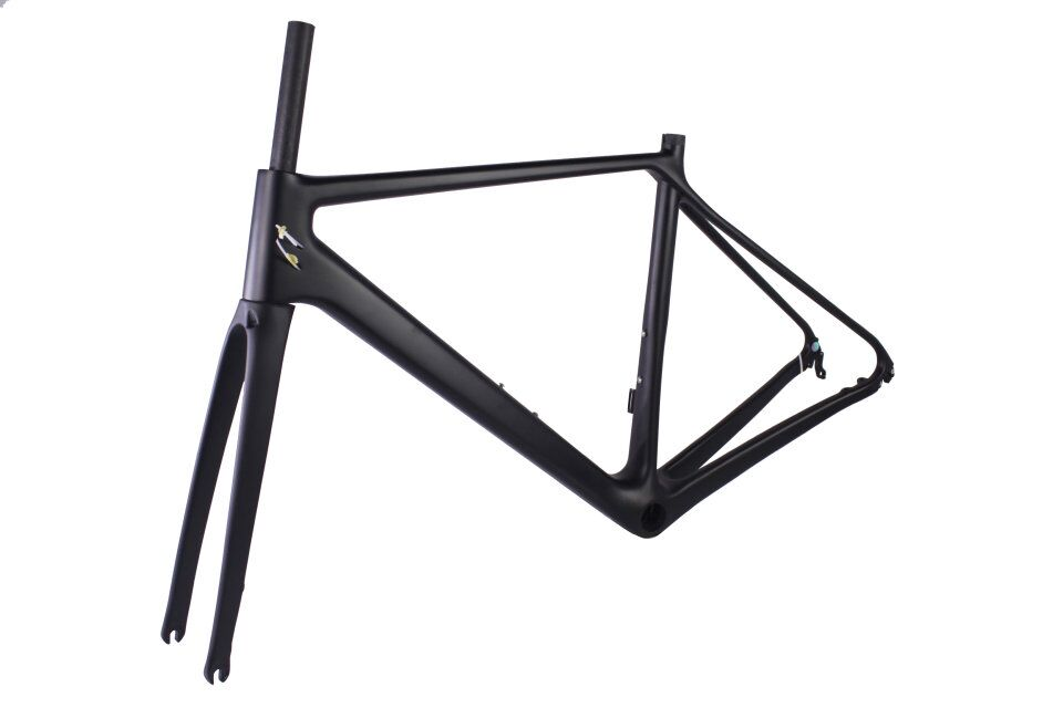 2018 New Carbon Road Frame Disc Brake DCRF18 46/50cm BB86 Chinese Carbon Frames With 2 Years Warranty