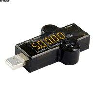 Stod usb tester medidor multímetro digital atual detector de tensão alarme som seguro de carregamento para carregador power bank cabo monitor