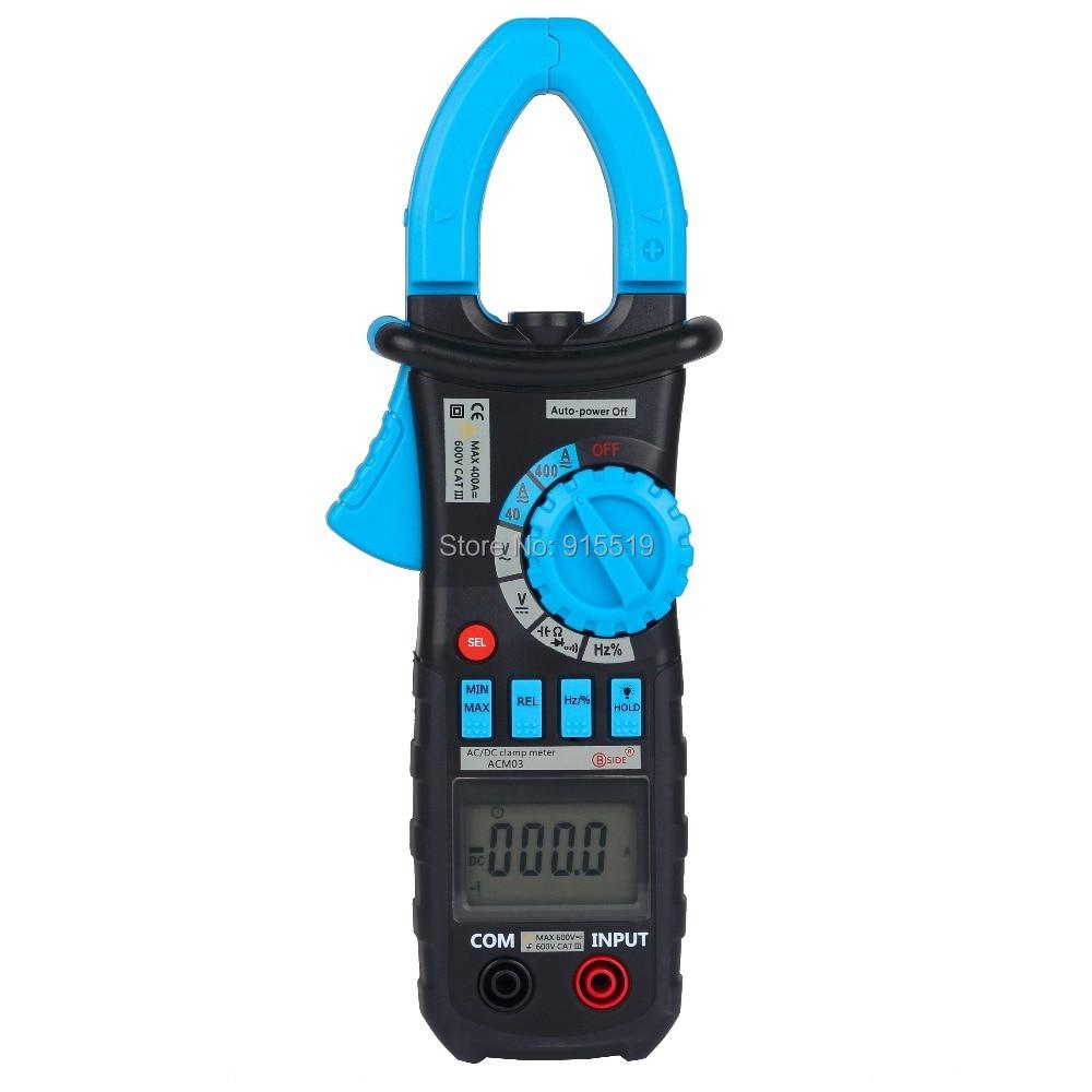 Ac Dc Clamp Meter : Aliexpress buy bside acm auto range digital