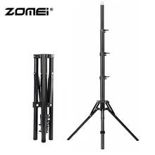 Zomei Light Tripod Lamp Stand Reverse Fold 4 Section for Smartphone SLR DSLR Camera Flash Portable Softbox Flash Holder Bracket цена и фото