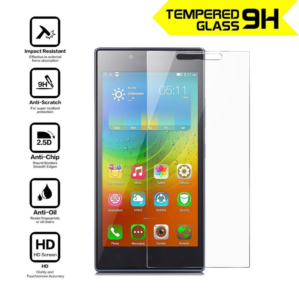 Premium Tempered Glass For Lenovo P70 P70T P70A P70-T P70-A Screen Protector 9H Toughened Protective Film Guard