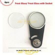 4 adet Don Etkisi Cam Don Filtresi Çerçeve Soketi Kiriş için 7R 230 W 5R 200 Işın Hareketli Kafa ışık Frost Etkisi