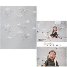 Vinyl Photo Backdrops Plane Oxford Photography Background Wallpaper Wood Floor For Children photo studio allenjoy photography backdrops paper plane children newborn background for photo studio