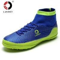 Leoci New 2016 Mens Football Boots Indoor Soccer Cleats Waterproof PU Zapatillas De Deporte Mujer Football