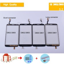 For LG Optimus G2 D800 D801 D802 D803 D805 G2 Touch Screen Touch Panel Sensor Digitizer Front Glass Outer Lens Touchscreen ipartsbuy high qualiay lcd screen touch screen digitizer assembly for lg g2 d800 d801 d803 f320