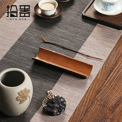 Natural Bamboo Tea Scoop 2