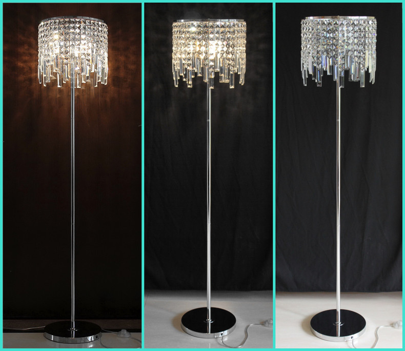 Perfect Aliexpress.com : Buy Fashion Creative Stand Lighting Crystal Romantic  Luxury Modern Library Stand Lamps Living Room Bedside K9 Crystal Floor  Lamps From ...