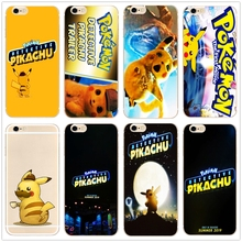 Pokemon Detective Pikachu hard phone case cover for Samsung s8 s9plus S6 S7Edge S5 for iPhone 7 6s 8plus 5s 5c 4s X XS XR XSMAX