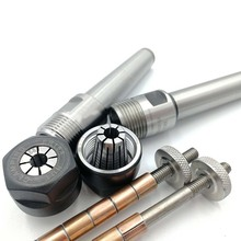 Caneta mandril collet mandril conjunto caneta mandril caneta kit torneamento torno carpintaria diy peças de máquinas para trabalhar madeira ferramentas