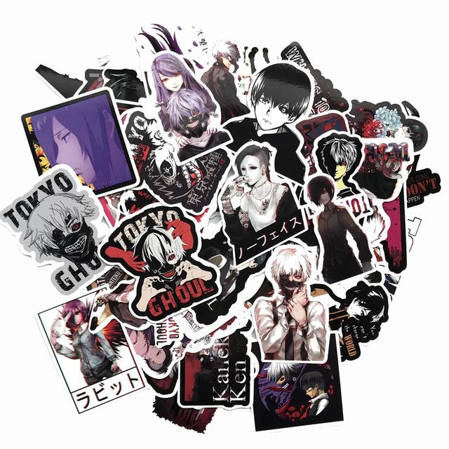 52pcs Tokyo Ghoul Style Graffiti Stickers