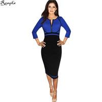 Autumn Women Ladies Formal Work Dresses 2016 New Arrivals Bodycon Work Dresses Women S Plus Size