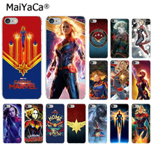MaiYaCa Marvel Superhero Captain  Newly Arrived Transparent Cell Phone Case for Apple iPhone 7 8 6 6S Plus X XS MAX 5 5S SE XR