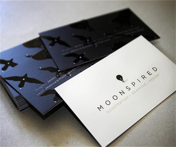 Boutique Design Uv Business Cards Custom Special Paper Matte Color