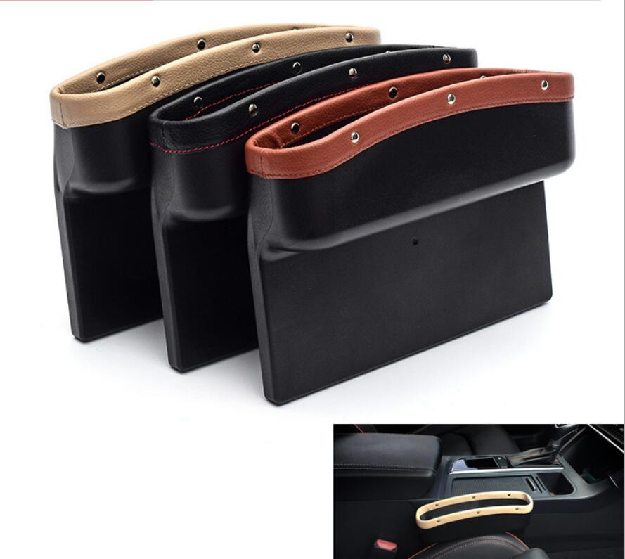For Mazda CX-5 CX5 2015 2016 2017 2018 Car Seat Slit Gap Pocket Storage Glove Box Slot Box Interior Decoration Car-styling for mazda cx 5 cx5 2017 2018 kf 2nd gen car co pilot copilot stroage glove box handle frame cover stickers car styling